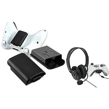 Insten® 667823 2-Piece Game Headset Bundle For Microsoft Xbox 360