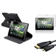 Insten® 667852 3-Piece Tablet Cable Bundle For BlackBerry Playbook 360