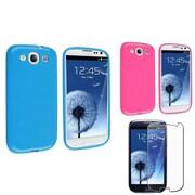 Insten® 673259 3-Piece Screen Protector Bundle For Samsung Galaxy S3