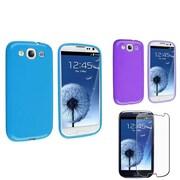 Insten® 673262 3-Piece Screen Protector Bundle For Samsung Galaxy S3
