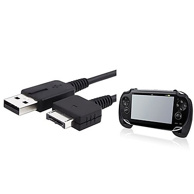 Insten® 687106 2-Piece Game Cable Bundle For Sony PlayStation Vita
