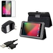Insten® 688875 4-Piece Tablet Cable Bundle For Google Nexus 7 2012, BlackBerry/LG/Motorola