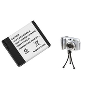 Insten® 689888 2-Piece DV Battery Bundle For Digital Camera AHDBT-001