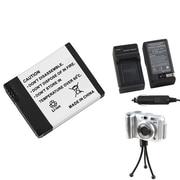 Insten® 689891 3-Piece DV Battery Bundle For Digital Camera AHDBT-001/GoPro AHDBT-001