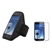 Insten® 697716 2-Piece Armband Bundle For Cell phone/MP3 Player/Samsung Galaxy S3