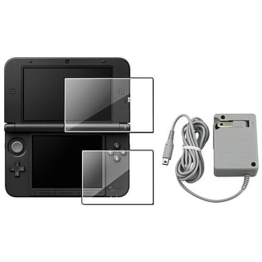 Insten® 698090 2-Piece Game Screen Protector Bundle For Nintendo 3DS XL/LL