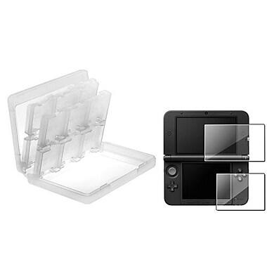 Insten® 698096 2-Piece Game Case Bundle For Nintendo 3DS/3DS XL/LL