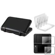 Insten® 712626 3-Piece Game Case Bundle For Nintendo 3DS/3DS XL/LL