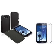 Insten® 731276 2-Piece Case Bundle For Samsung Galaxy SIII i9300