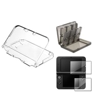 Insten® 737249 3-Piece Game Case Bundle For Nintendo 3DS/3DS XL/LL