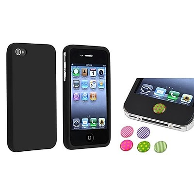 Insten 738008 2 Piece iPhone Case Bundle For Apple iPhone 4 4S Apple iPhone iPad iPod Touch