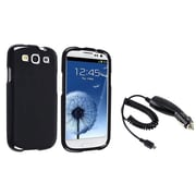 Insten® 742545 2-Piece Car Charger Bundle For Samsung Galaxy SIII i9300