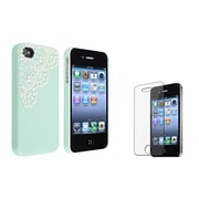 Insten® 752876 2-Piece iPhone Case Bundle For Apple iPhone 4/4S
