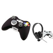Insten® 756900 2-Piece Game Headset Bundle For Microsoft Xbox 360