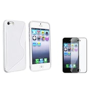 Insten® 771452 2-Piece iPhone Screen Protector Bundle For iPhone 5/5C/5S