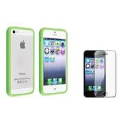 Insten® 809677 2-Piece iPhone Case Bundle For Apple iPhone 5/5S/5C
