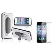 Insten® 809844 2-Piece iPhone Case Bundle For Apple iPhone 5/5S/5C