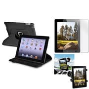 Insten® 810701 3-Piece Tablet Case Bundle For Apple iPad 2/3/4