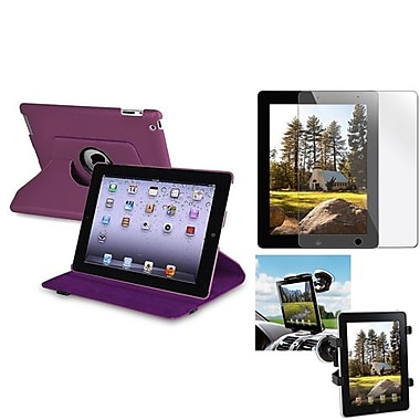 Insten® 810705 3-Piece Tablet Case Bundle For Apple iPad 2/3/4