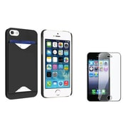 Insten® 812108 2-Piece iPhone Case Bundle For Apple iPhone 5/5S/5C