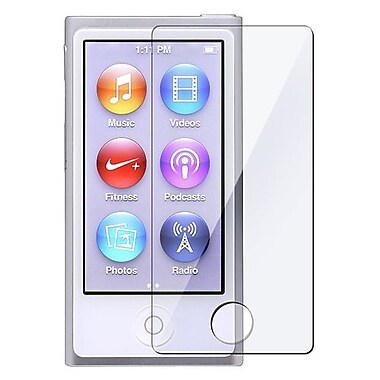 Insten® 812562 3-Piece MP3 Screen Protector Bundle For Apple iPod Nano 7th Gen