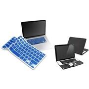 Insten® 814415 2-Piece MacBook Case Bundle For Apple MacBook Pro 13