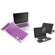 Insten® 814417 2-Piece MacBook Case Bundle For Apple MacBook Pro 13