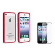 Insten® 817098 2-Piece iPhone Case Bundle For Apple iPhone 5/5S/5C