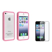 Insten® 817112 2-Piece iPhone Case Bundle For Apple iPhone 5/5S/5C