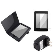 Insten 823264 Faux Leather Case for Amazon Kindle Paperwhite Tablet, Black