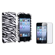 Insten® 823642 2-Piece MP3 Case Bundle For Apple iPod Touch 4th Gen