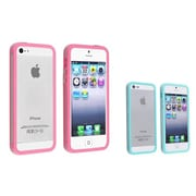 Insten® 828706 2-Piece iPhone Case Bundle For Apple iPhone 5/5S
