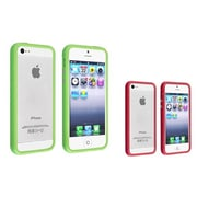 Insten® 828746 2-Piece iPhone Case Bundle For Apple iPhone 5/5S
