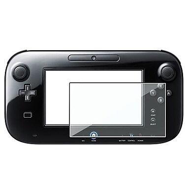 Insten® 871313 2-Piece Game Screen Protector Bundle For Nintendo Wii U Gamepad