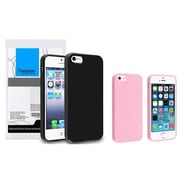 Insten® 833400 2-Piece iPhone Case Bundle For Apple iPhone 5/5S