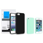 Insten® 833404 2-Piece iPhone Case Bundle For Apple iPhone 5/5S