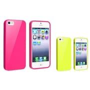 Insten® 833416 2-Piece iPhone Case Bundle For Apple iPhone 5/5S