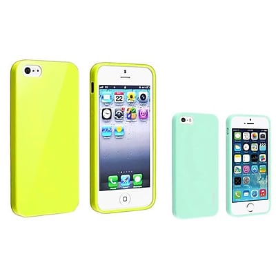 Insten 833431 2 Piece iPhone Case Bundle For Apple iPhone 5 5S