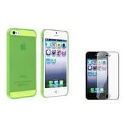 Insten® 864538 2-Piece iPhone Case Bundle For Apple iPhone 5/5S/5C
