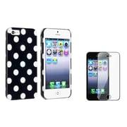 Insten® 864562 2-Piece iPhone Case Bundle For Apple iPhone 5/5S/5C