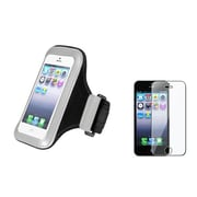 Insten® 870188 2-Piece iPhone Armband Bundle For Apple iPhone 5/5C/5S/iPod Touch 5th Gen
