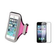 Insten® 870228 2-Piece iPhone Armband Bundle For Apple iPhone 5/5C/5S/iPod Touch 5th Gen