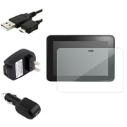 Insten® 902361 4-Piece Screen Protector Bundle For Amazon Kindle Fire