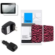"Insten® 902689 4-Piece Car Charger Bundle For Amazon Kindle Fire HD 7"" 2012"