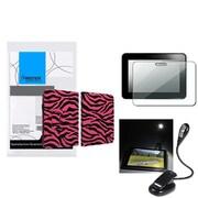 Insten® 902707 3-Piece Tablet Case Bundle For Amazon Kindle Fire HD 2012