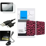 Insten® 902712 4-Piece Tablet Cable Bundle For Amazon Kindle Fire HD 2012