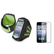 Insten® 922445 2-Piece iPhone Armband Bundle For Apple iPhone 5/5C/5S/iPod Touch 5th Gen