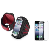 Insten® 922520 2-Piece iPhone Armband Bundle For Apple iPhone 5/5C/5S/iPod Touch 5th Gen