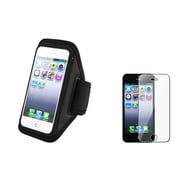 Insten® 922545 2-Piece iPhone Armband Bundle For Apple iPhone 5/5C/5S/iPod Touch 5th Gen