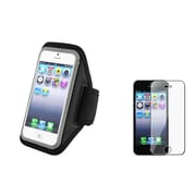 Insten® 922645 2-Piece iPhone Armband Bundle For Apple iPhone 5/5C/5S/iPod Touch 5th Gen